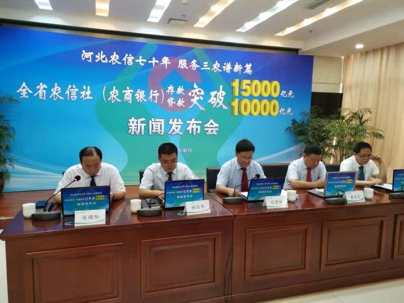 河北农信存贷款业务实现历史性突破